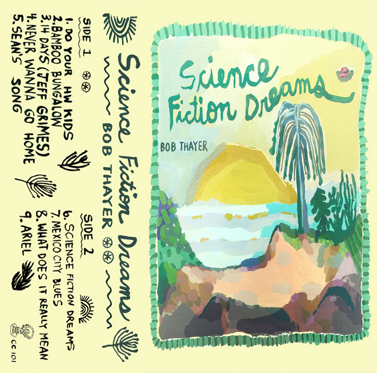 Science Fiction Dreams | Curly Cassettes