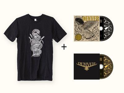 Denver Bundle: Snake Tee + Two CDs main photo