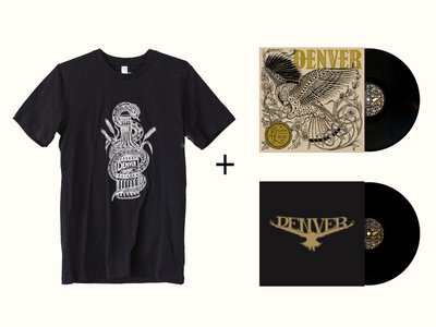 DENVER BUNDLE: Snake Tee + Two LPs main photo