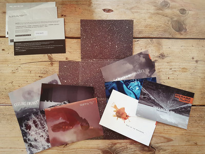 'Have a safe trip, dear' (2017) artwork, 7 postcards & download main photo