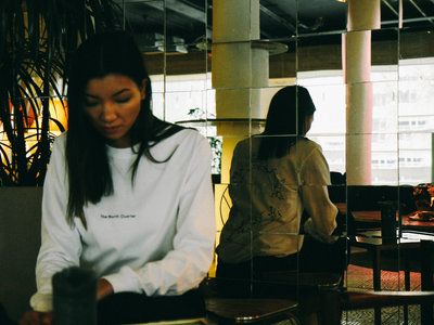The NQ Long Sleeve (White) main photo