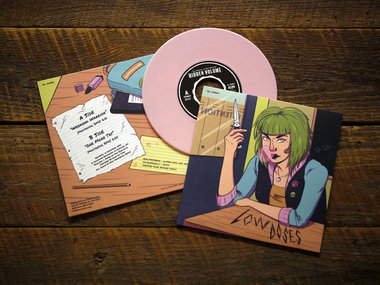 "7"" Bubble Gum Pink vinyl, Limited Ed. 150 copies main photo"