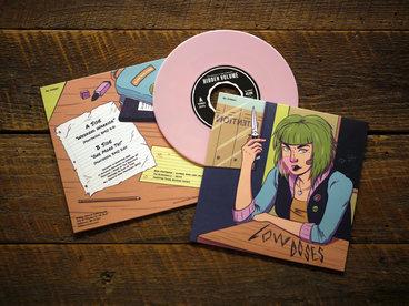 """7"""" Bubble Gum Pink vinyl, Limited Ed. 150 copies main photo"""