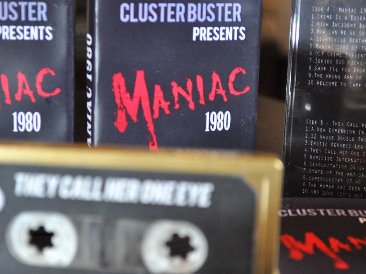 cluster buster maniac 1980