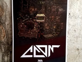 Set Of Four Radiograffiti Promotional Posters 13x19 - Limited photo