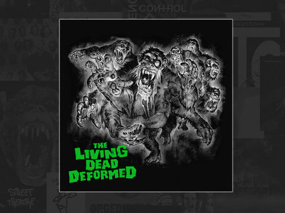 DEFORMER - The Living Dead Deformed (limited edition green vinyl + free download) main photo