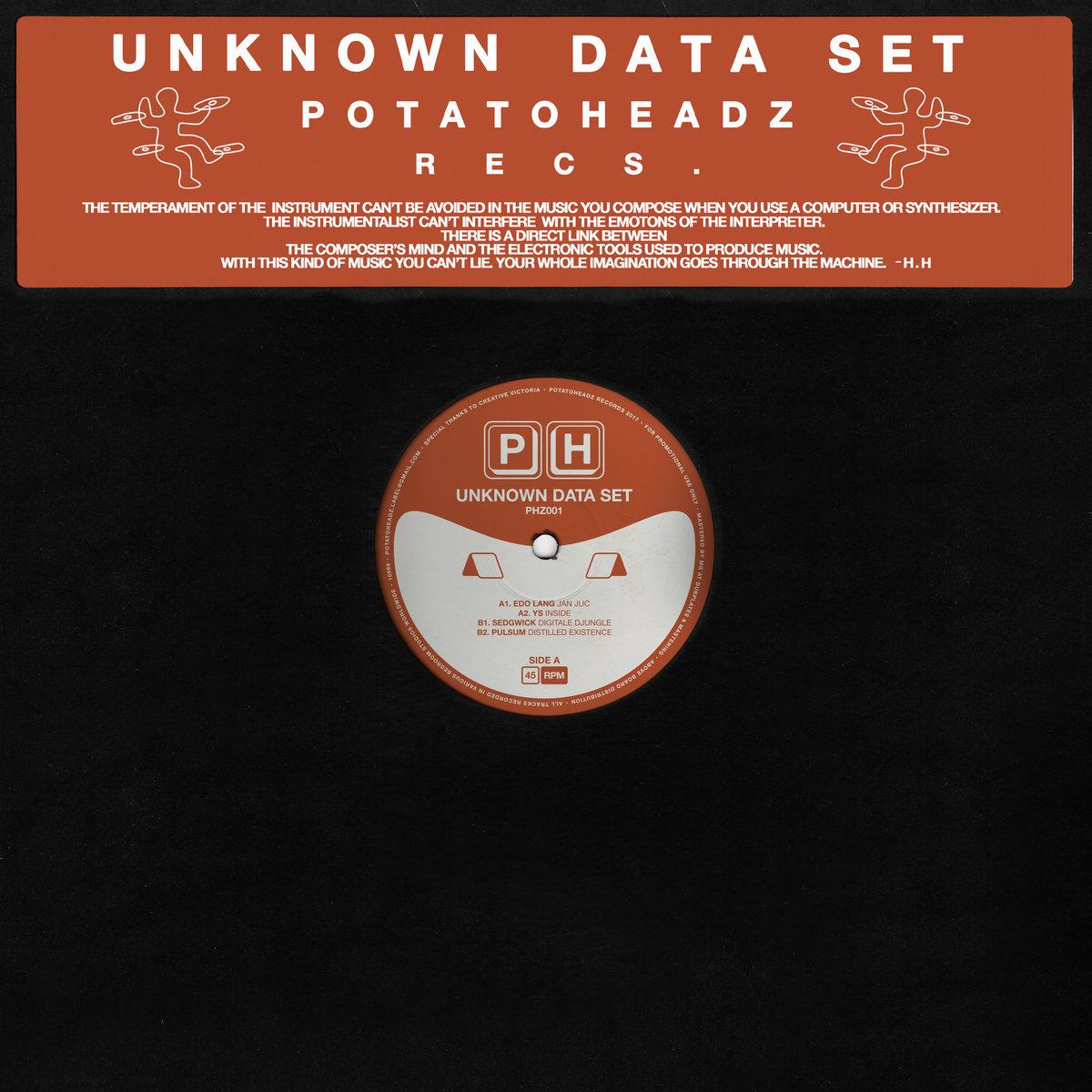 PHZ001 - Unknown Data Set   Potatoheadz Records