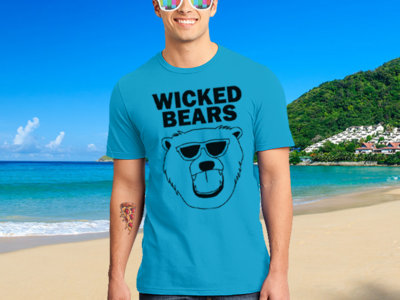 Wicked Bears Logo T-Shirt - Blue main photo