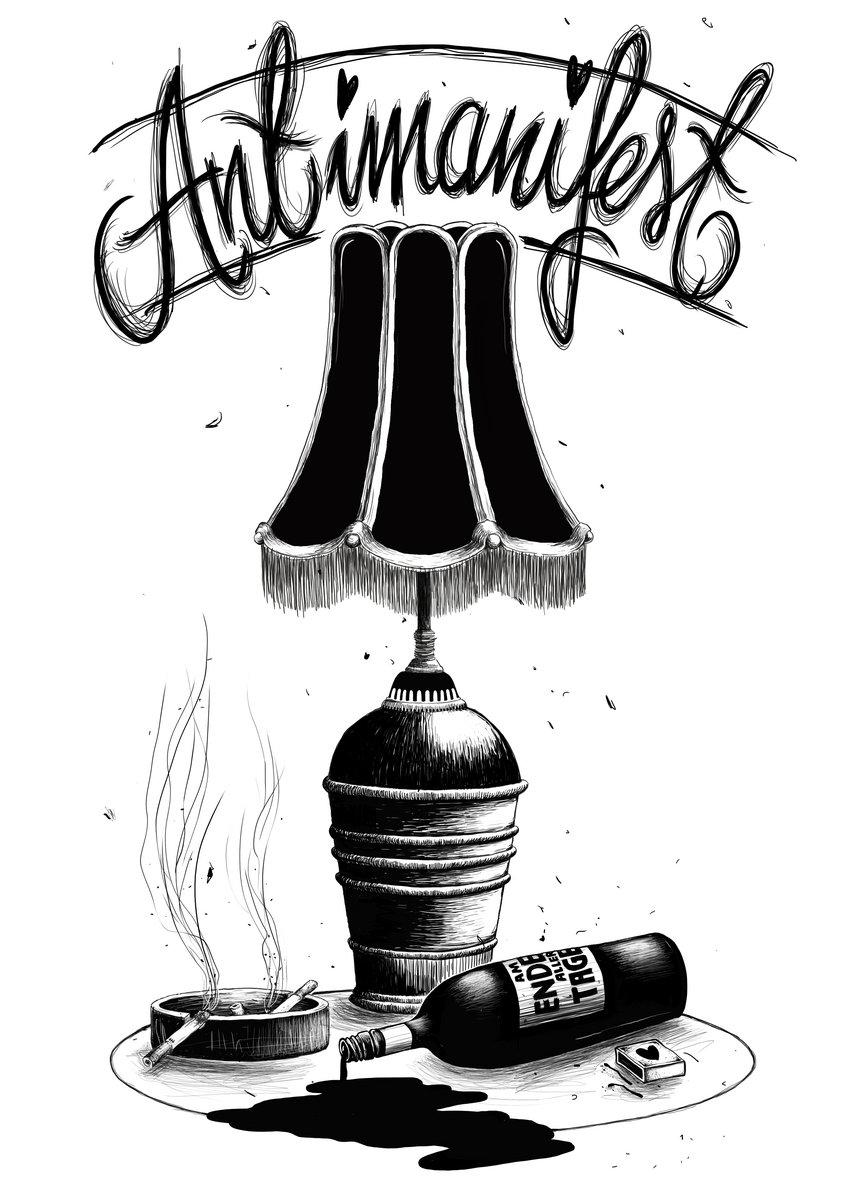 Antimanifest - Am Ende aller Tage [blau] T-Shirt | Twisted Chords