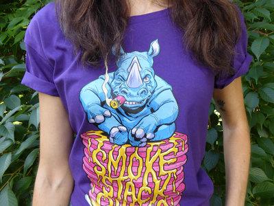 Women's 'Pancake' T-Shirt - Purple main photo