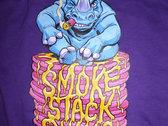 Women's 'Pancake' T-Shirt - Purple photo