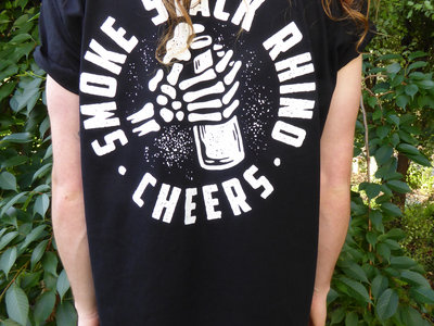 'Cheers' Double-Sided T-Shirt - Black main photo