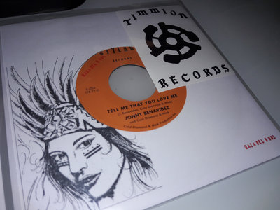 Tell Me That You Love Me - Jonny Benavidez (Orange Label) main photo