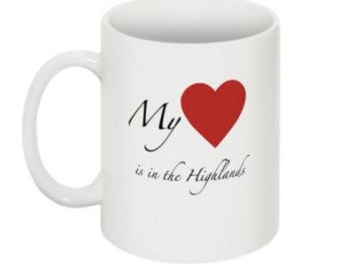 Heart is in the Highlands Mug main photo