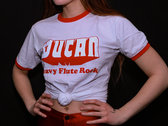 "Wucan Logo Ringer Shirt ""Heavy Flute Rock"" photo"