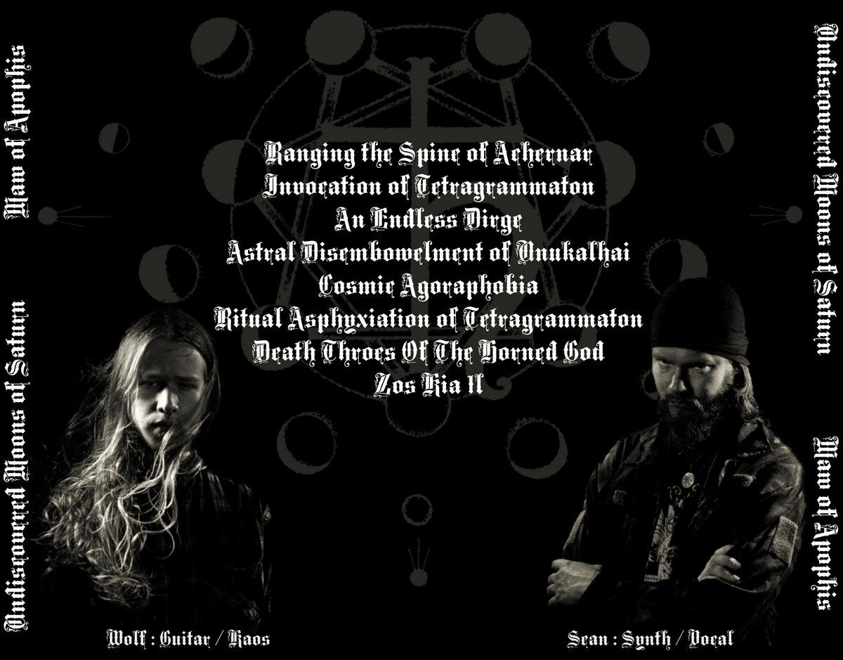 Ritual Asphyxiation of Tetragrammaton | Undiscovered Moons