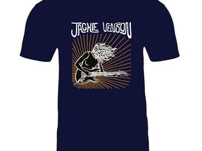 100% Cotton Dark Blue Jackie Venson T-Shirt main photo