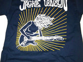 100% Cotton Dark Blue Jackie Venson T-Shirt photo