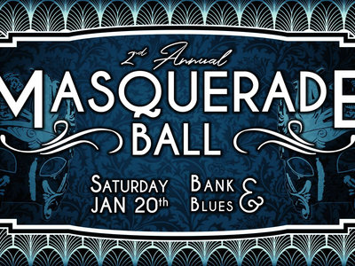 2nd Annual Masquerade Ball Ticket w/FREE Twisty Chris album download & FREE Twisty Chris sticker! main photo