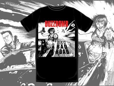 Sixty Miles of Bad Road T-Shirt (Front Cover) main photo