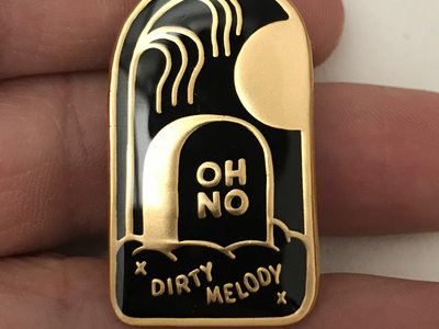 OH NO Dirty Melody 35mm Enamel Pin main photo