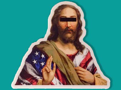 American Jesus 3-Pack Stickers main photo