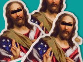 American Jesus 3-Pack Stickers photo