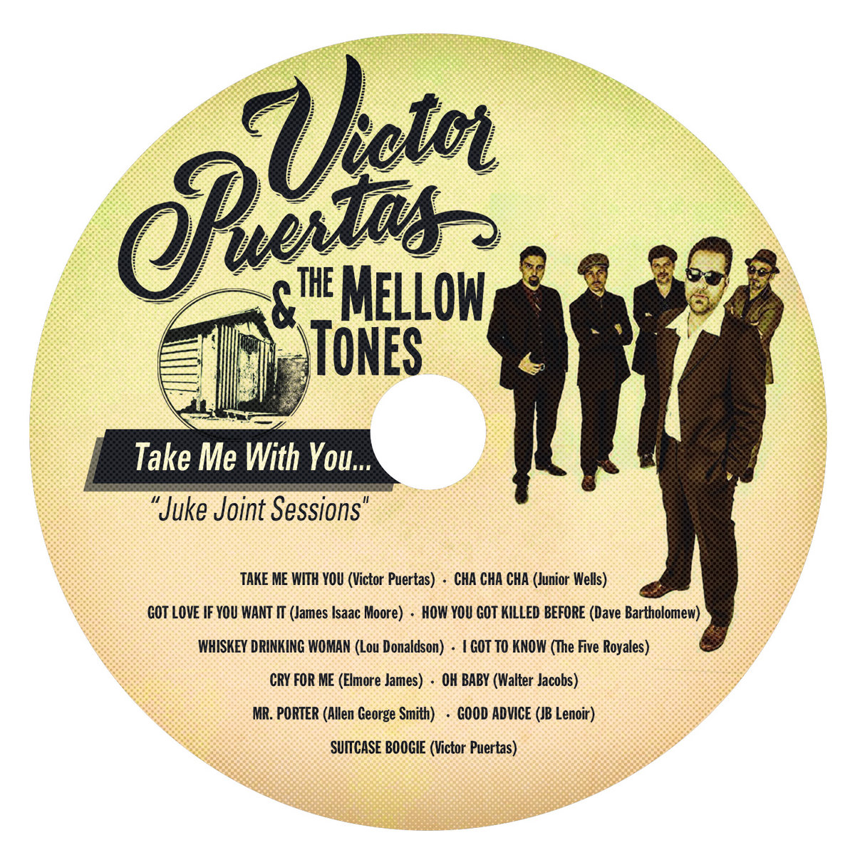 Take Me With You | Victor Puertas & The Mellow Tones