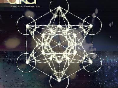 "Individual 4"" sticker - Metatron's Cube design main photo"