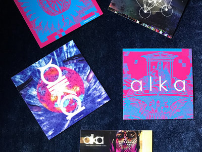 alka sticker collection 5 design pack main photo