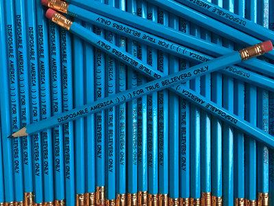 "DA ""For True Believers Only"" Pencils (Quantity: 5) main photo"