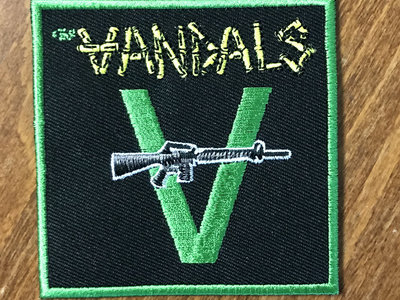 Classic Vandals V-Gun Embroidered Patch main photo