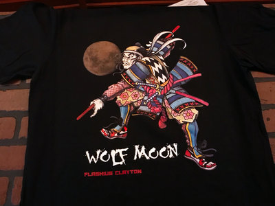 Wolf Moon T-Shirt & Digital Download main photo