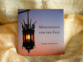 Meditations for the Fast 5 CDs (discounted) + Prayer book cover Gift photo