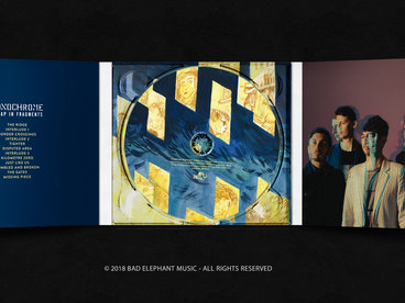 6-Panel DigiPak with booklet main photo