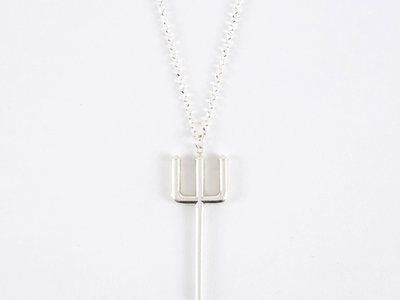 Sterling Silver Pitchfork Pendant (W/ CHAIN) (PRE-ORDER UNTIL 13/01/18) main photo