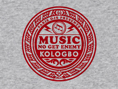 Wearplay EP#23 - Kologbo - Music No Get Enemy - T-shirt Made In France main photo