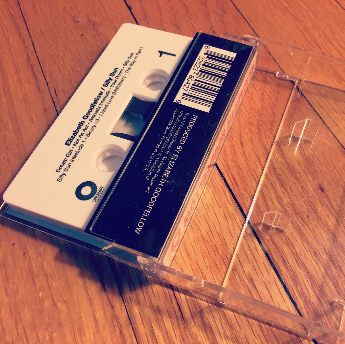 Cassette Tape With Fold Out J Card Featuring Photography By Stephanie Pia Cover Design Mark Nubar Full S And Credits