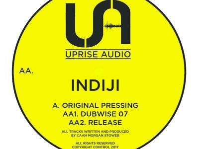 "INDIJI - Original Pressing - UA027 12"" vinyl main photo"