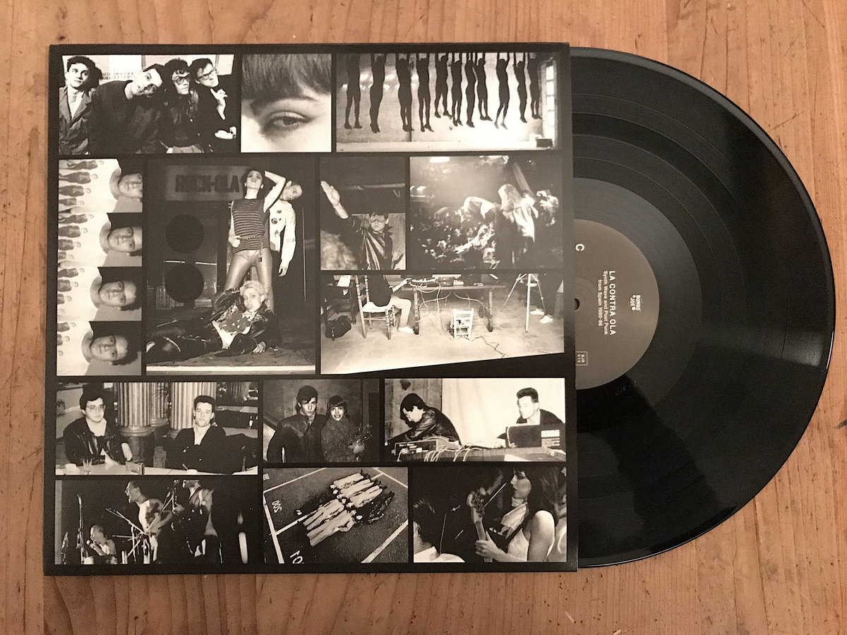 LA CONTRA OLA Synth Wave & Post Punk from Spain 1980-86 | Various Artists |  Les Disques Bongo Joe