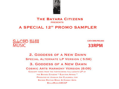 "The Bayara Citizens Presents: A Special Limited 100 Red Vinyl 12"" Promo Sampler main photo"