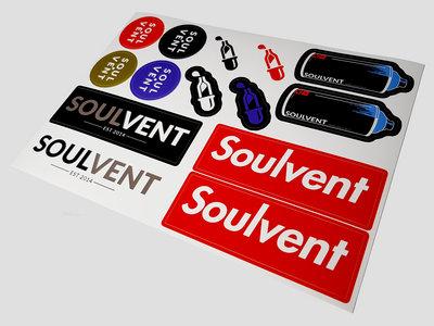 Soulvent Sticker Sheet main photo