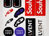 Soulvent Sticker Sheet photo