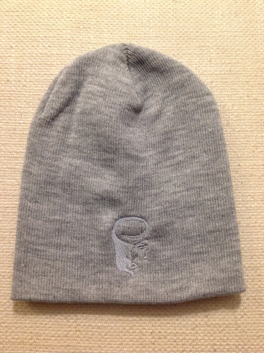 ... Knit Skull Caps with Embroidered Logo photo ...