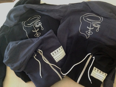 Heavyweight ZipUp Hoodies with Front & Back Logos main photo