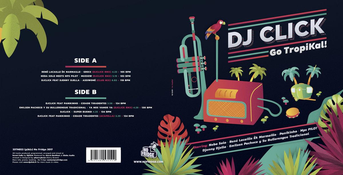 Go TropiKal ! LIMITED VINYL EP EDITION 7 tracks + exclusive
