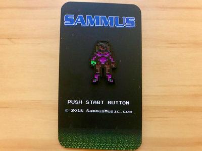 Black Sprite Sammus Pin main photo
