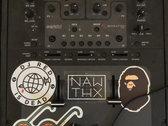 """DJ Red Is Dead"" Sticker photo"