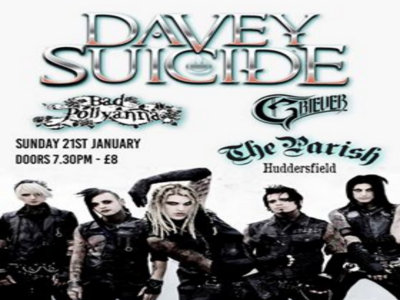 Davey Suicide with support from Bad Pollyanna and Griever main photo