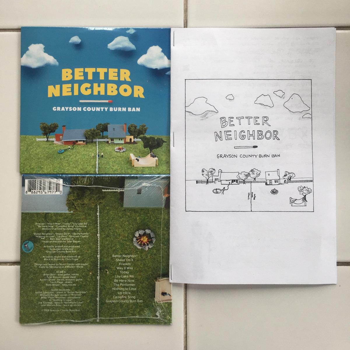 Better Neighbor Grayson County Burn Ban